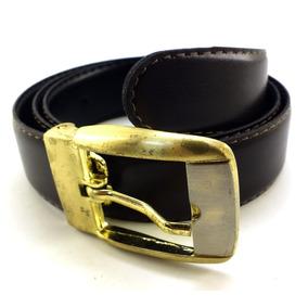 7af4914cbdc50 Cinto Branco Fivela Dourada Social Masculino Cintos - Acessórios da ...