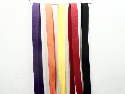 cintos de karate todos los colores excelente calidad