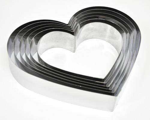 cintura forma de corazon nro 24 doña clara acero inox