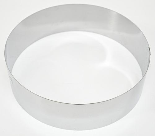 cintura molde redonda nro22 22x8cm doña clara acero