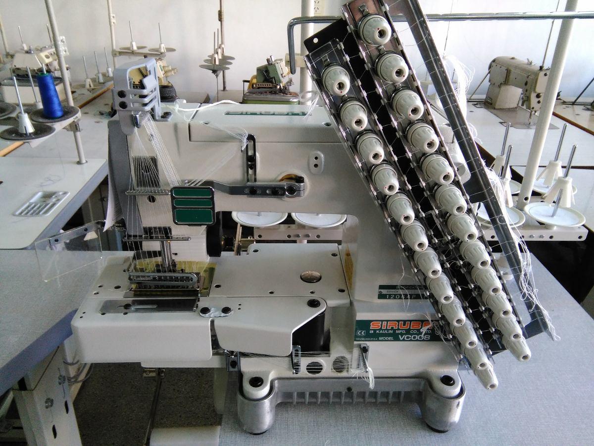 Cinturera Industrial De 12 Agujas Siruba Con Expansores -   99.999 ... 200672f9660