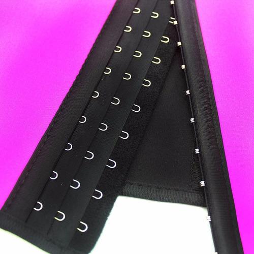 cinturilla corset waist trainer latex ejercicio, reductora