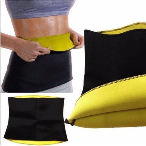 cinturilla faja reductora moldeadora quema grasa hot gym