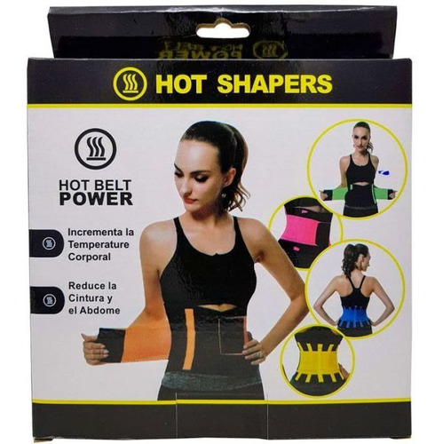 cinturilla faja termica hot belt power ajustable unisex