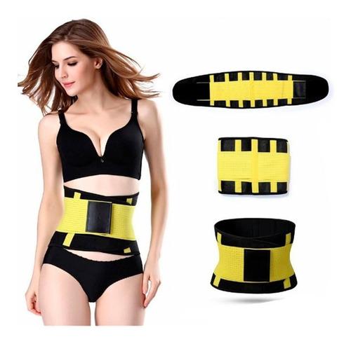 cinturilla faja termica hot belt power ajustable unisex