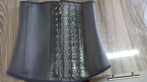 cinturilla o faja de latex 3 broches clasica  lady tex