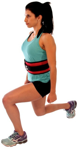 cinturão de musculação - acte sports