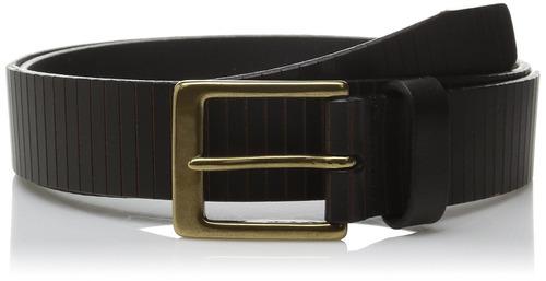 cinturón allen edmonds para hombre, negro, 044 estándar