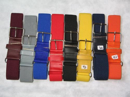 cinturon beisbol varios colores elastico softbol elije uno