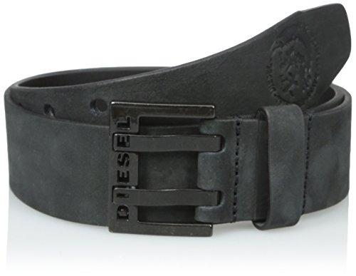 cinturon bit a mano para hombre, negro, 75