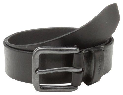 cinturón brody de los hombres fósiles, negro, 44