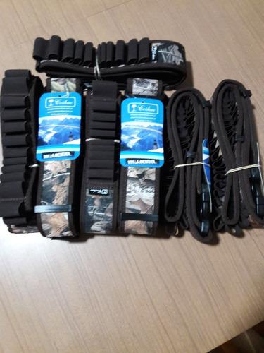 cinturon cartuchos cal 12-16 -20 canana x30 realtree coihue