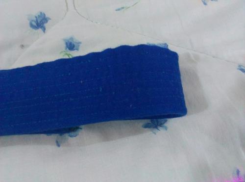 cinturón cinta correa karate talla 5 color azul adulto