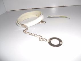 0916e14c2eac Cinturon Cinto Con Cadena Nuevo Sin Uso