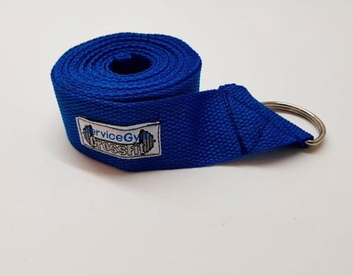 cinturon cinto para yoga largo 2 mts colores x1 servicegym