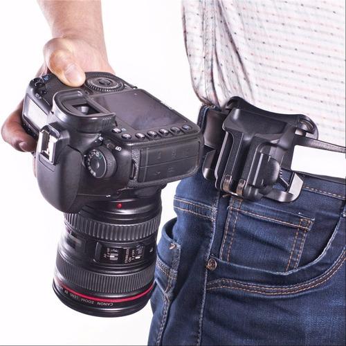 cinturón clip holster fast para cámara dslr