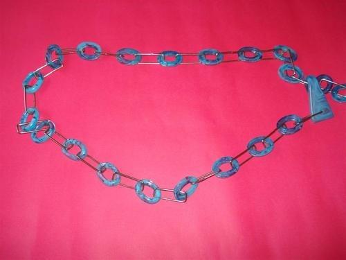 cinturón collar cadena  acrílico pop art importado varios