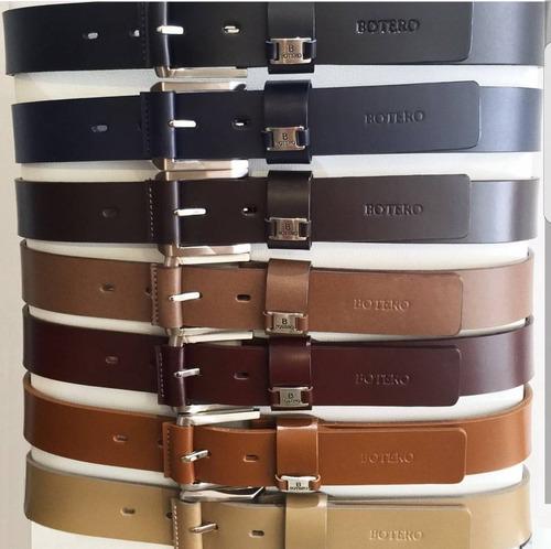 cinturón correa en 100% cuero para hombre de calidad