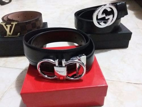 Cinturon Correa Hombre Ferragamo Louis Vuitton Armani -   899.000 en ... 14758435169e