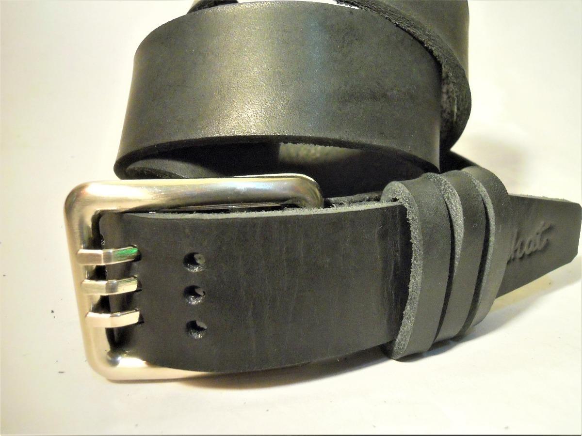 cinturon cuero hebilla triple gancho (medidas mujer hombre). Cargando zoom. 5a471b0d5bab