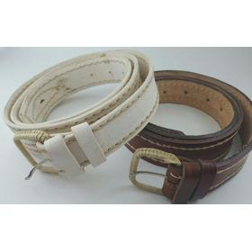 Cinturón Cuero Masculino Tipo Gaucho! Tradición Y Rustico