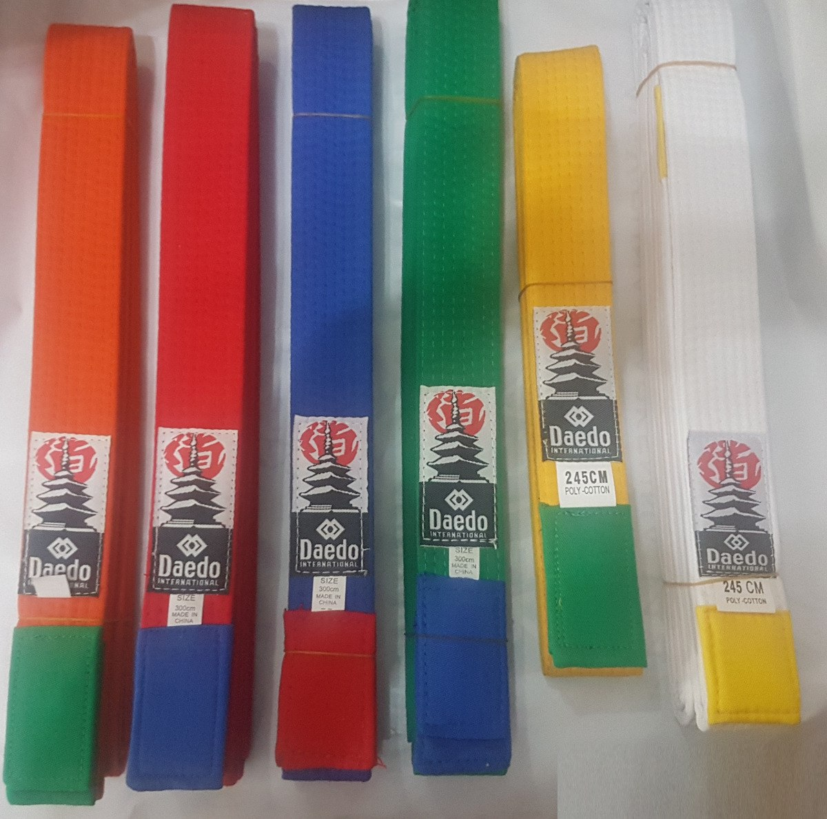 Cinturon Daedo Originales Taekwondo 513a461862cc