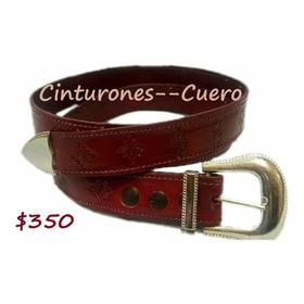 Cinturón De Cuero 100% Vaqueta Dama Y Caballero Artesania.