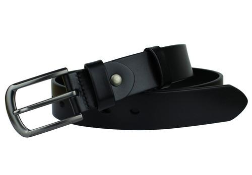 cinturón de cuero ancho de 33 mm para hombre de bullko con h