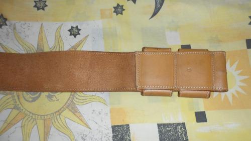 cinturón de cuero dama sin hebilla