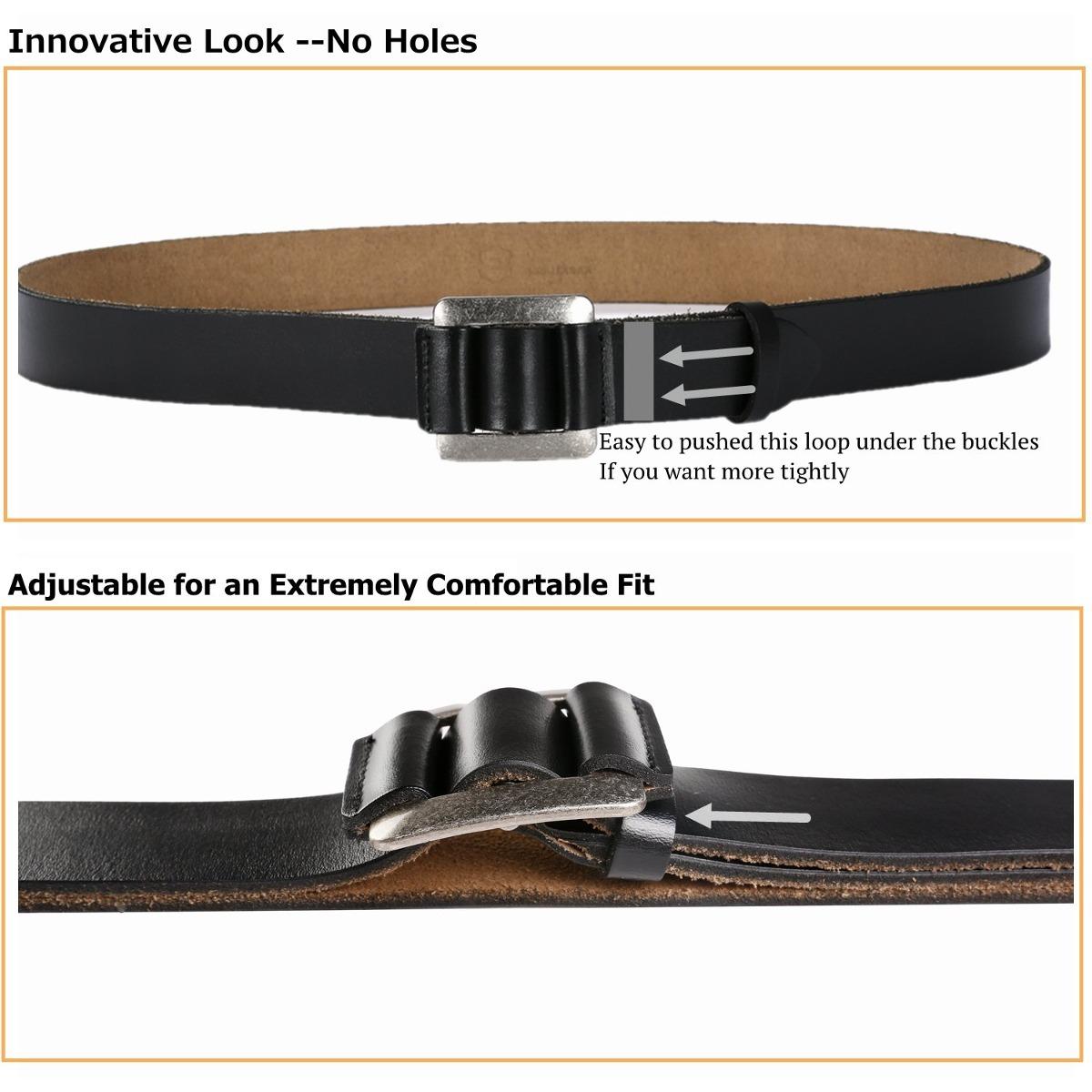 Cinturón De Cuero Para Hombre - Cinturones De Vestir Clás -   34.544 ... ab7849082aba