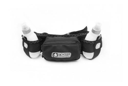 cinturón de hidratación 2 botellas noaf e! running trekking