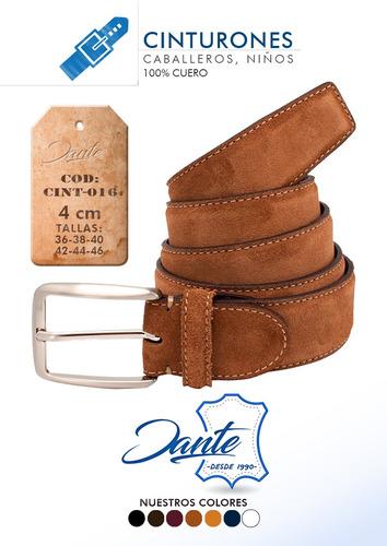 cinturon de hombre 100% cuero