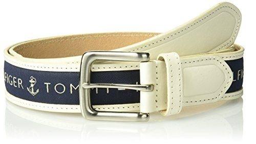 cinturón de incrustación de cinta de tommy hilfiger para hom