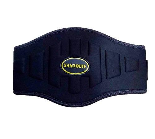 cinturón de levantamiento pesas con velcro para powerlift