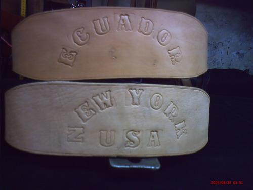 cinturon de pesas-con nombres-somos fabricantes
