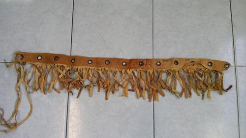 cinturon de piel dama color caqui talla 32 envio gratis dhl