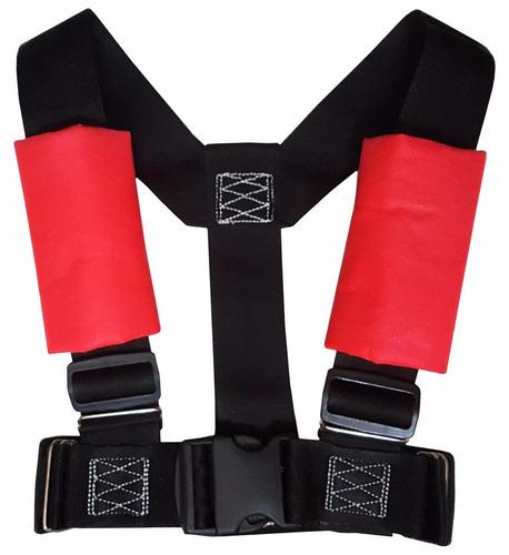 cinturon de seguridad arnes para niños black impresindible