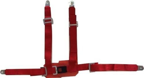 cinturón de seguridad competición butaca deportiva 4 puntas