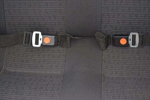 cinturón de seguridad fijos