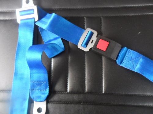 cinturon de seguridad ideal ford falcon 62/91 azul!!!
