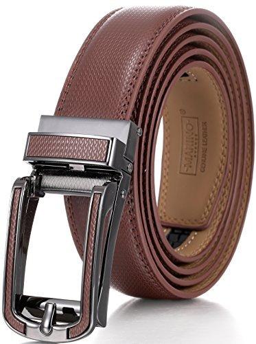 cinturón de trinquete de cuero genuino marino avenue para ho