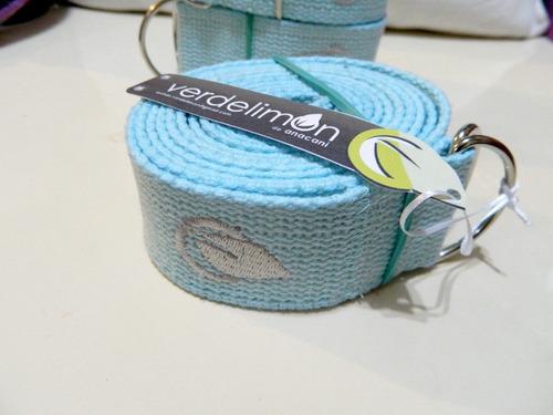 cinturon de yoga de algodon ... único con este precio