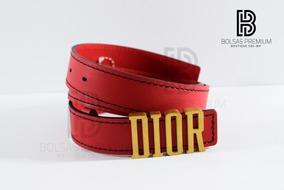 fotos oficiales a07a4 2e530 Cinturón Dior D-fence Rojo