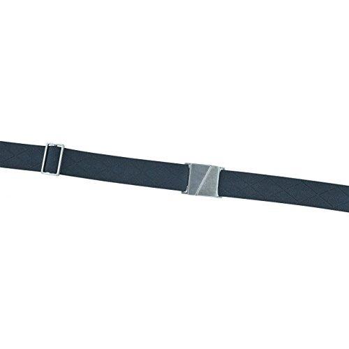 cinturón elástico con hebilla plana, cinturón ajustable