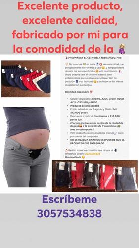 cinturón elástico para embarazadas