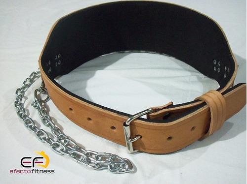 cinturón entrenamiento con cadenas, para discos