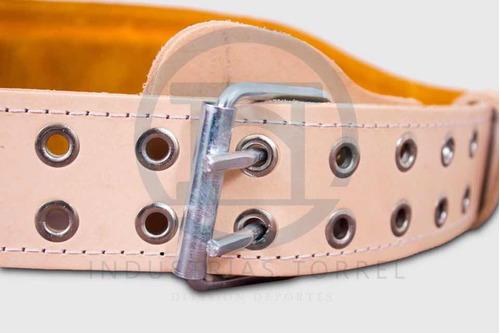 cinturón faja piel  crossfit  pesas  pesistas gym (cuero)
