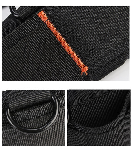 cinturon funda lentes dslr reflex acolchado diseño seguro