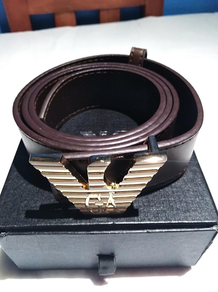mejor proveedor Para estrenar zapatos elegantes Cinturón Giorgio Armani Cod 66