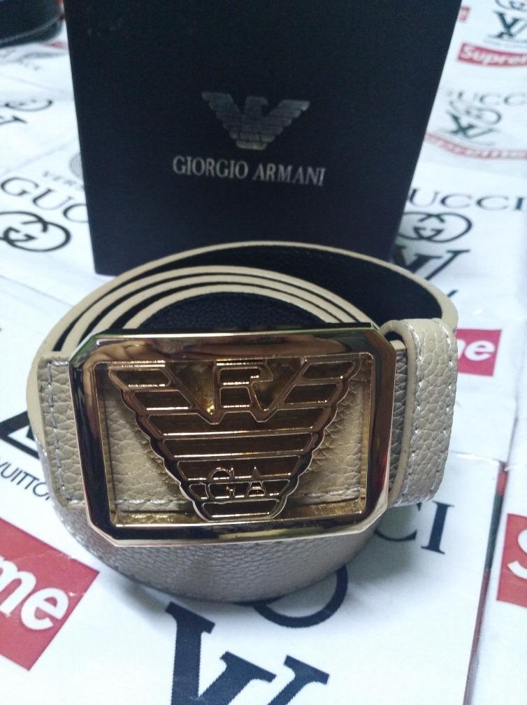 mayor selección de 2019 estilos frescos 2019 auténtico Cinturón Giorgio Armani Cod 77